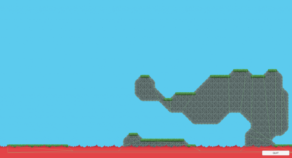 Perlin Cave example